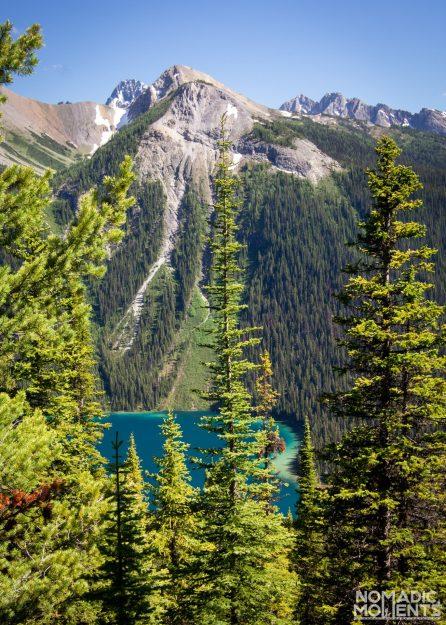 Marvel Lake Thru the Trees