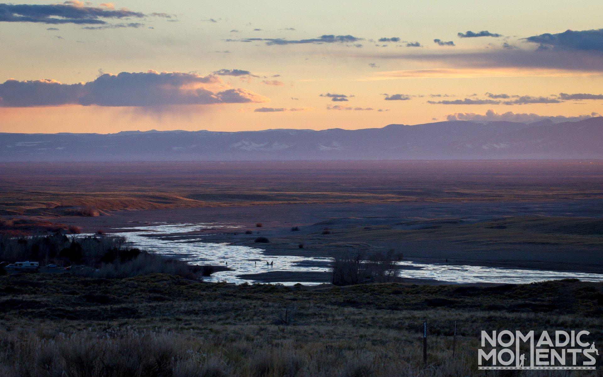 Medano Creek Sunset