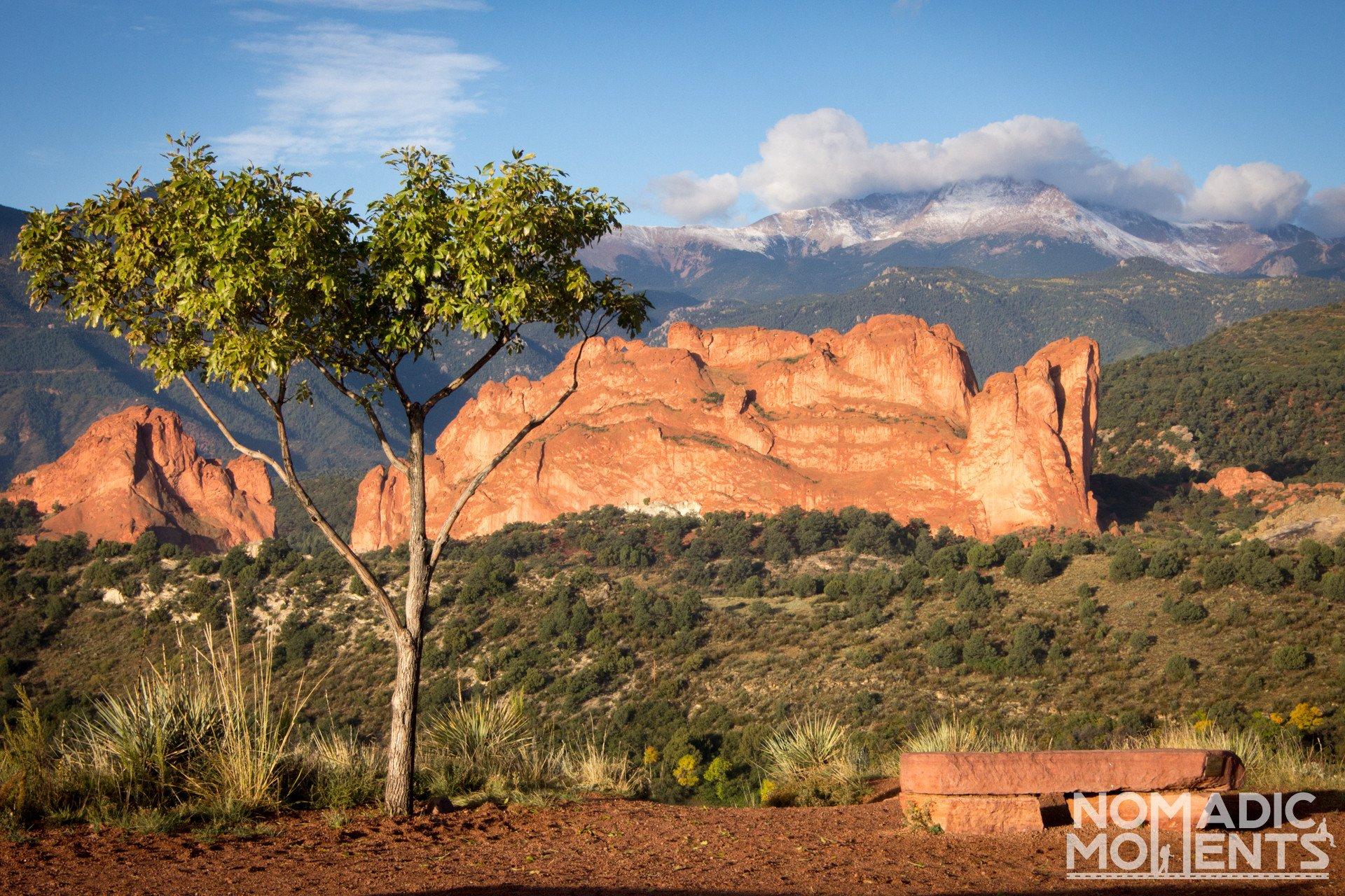Visiting Garden of the Gods Mesa Road Overlook