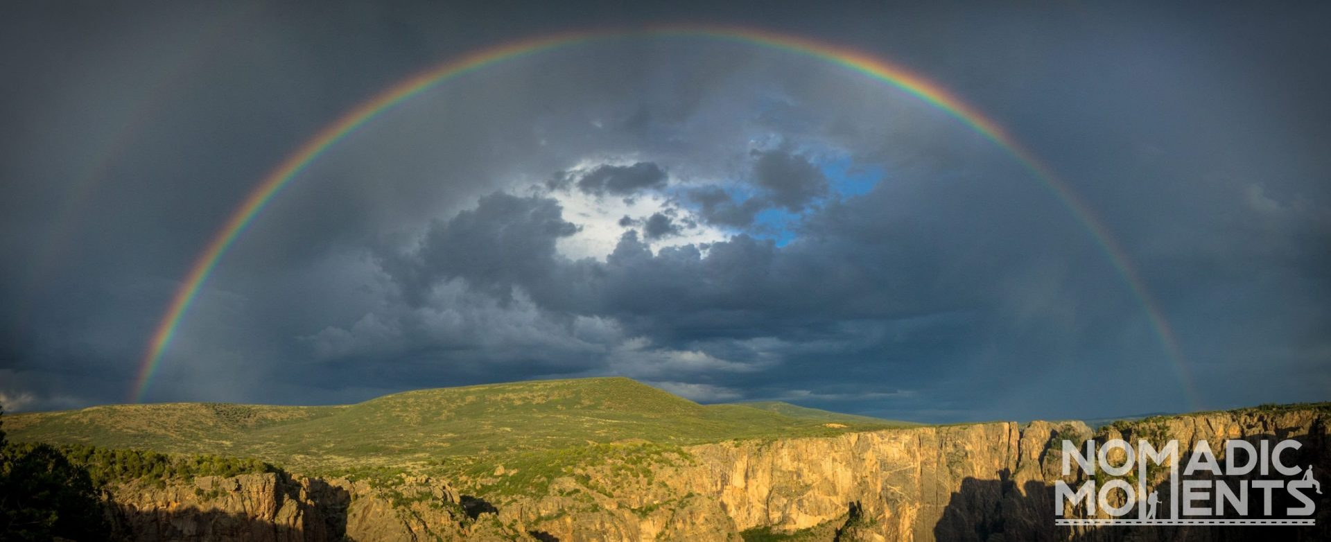 Rainbow above the Black