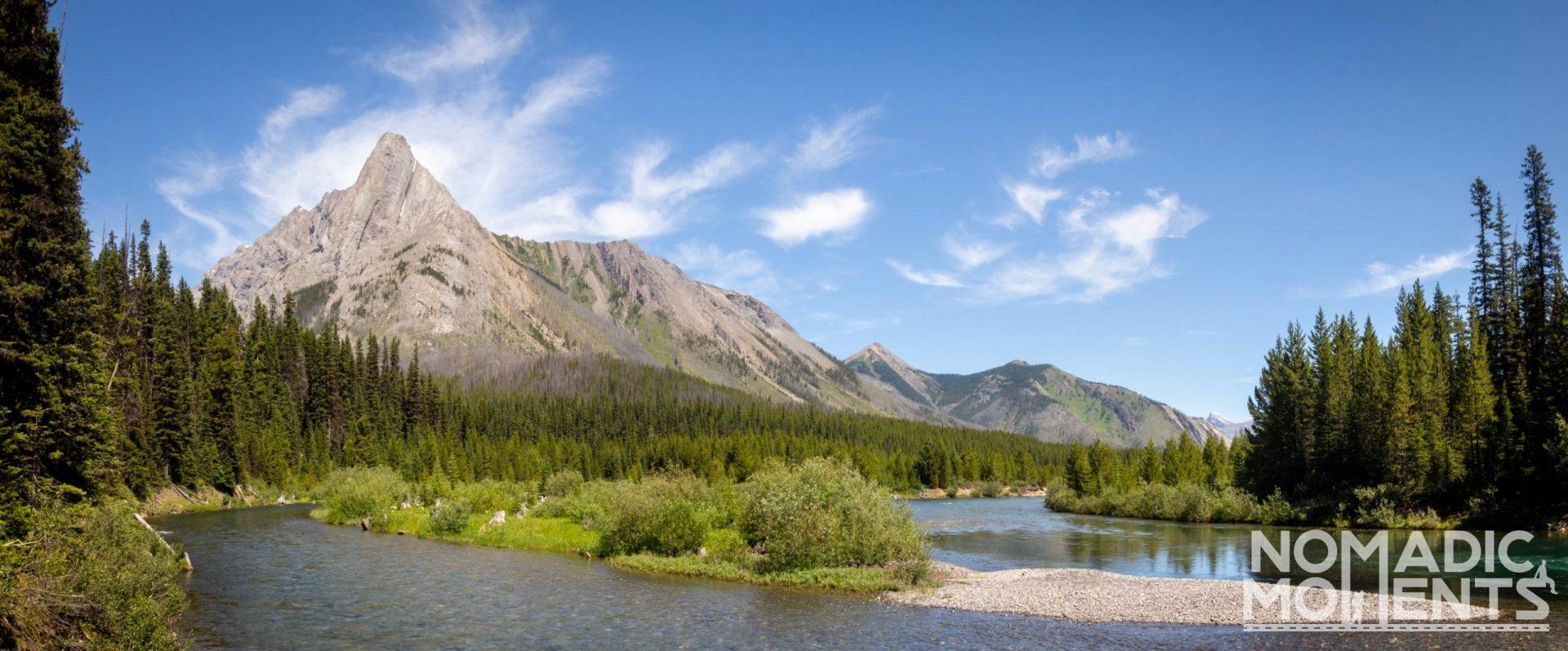 Spray Lake Reservoir