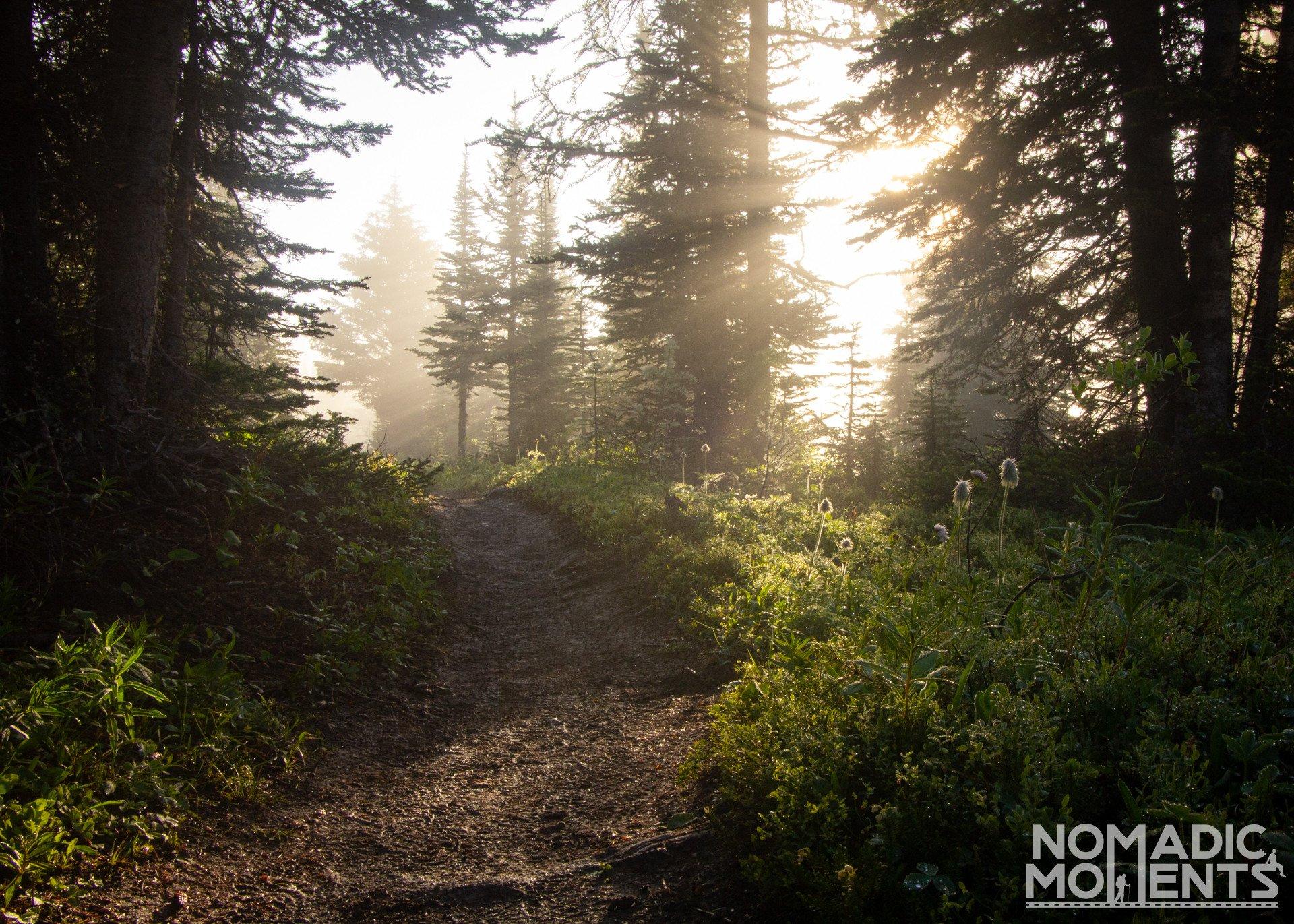 Sunrise on the Assiniboine Trail
