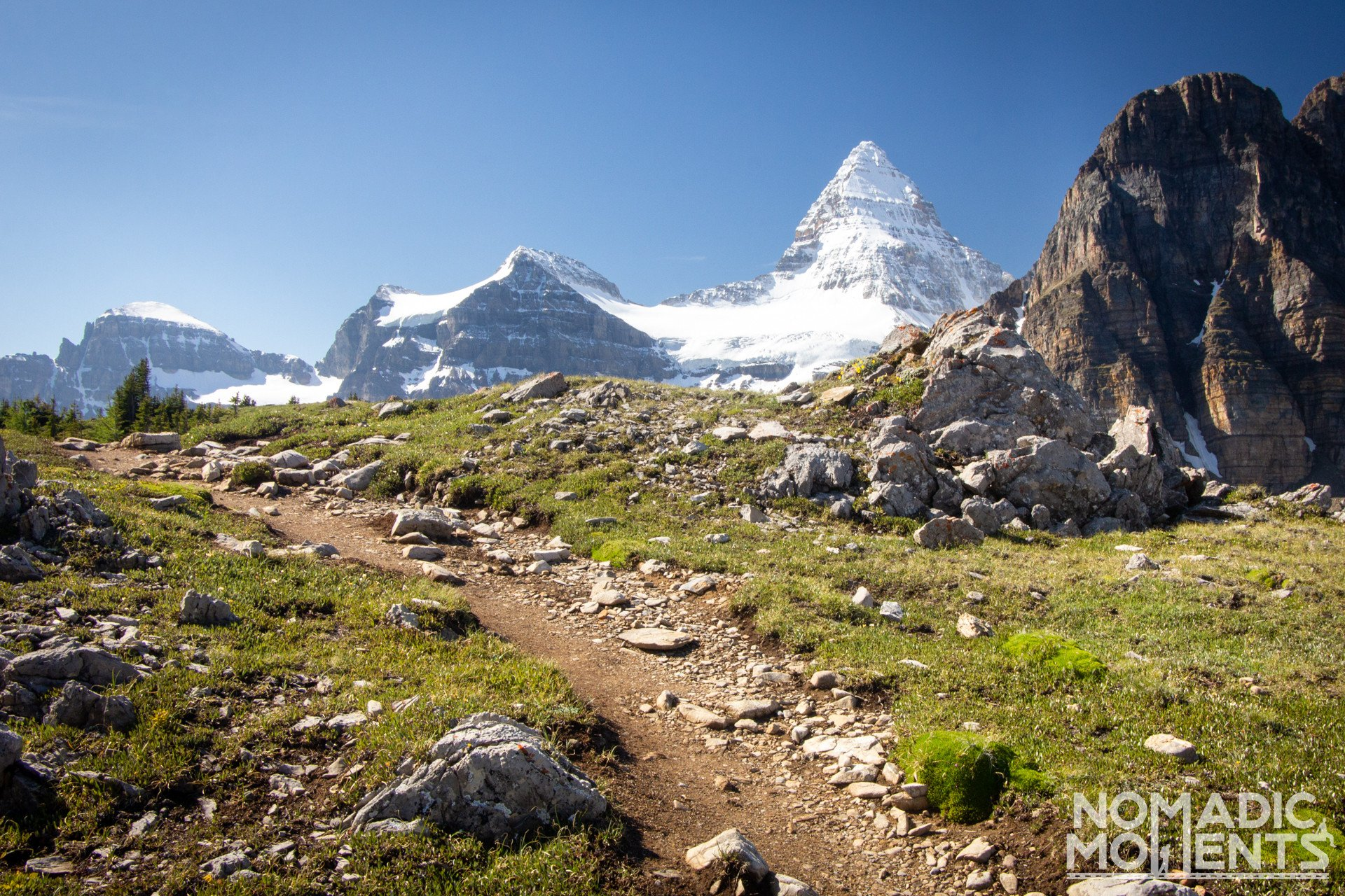 Trail Guide to Mount Assiniboine
