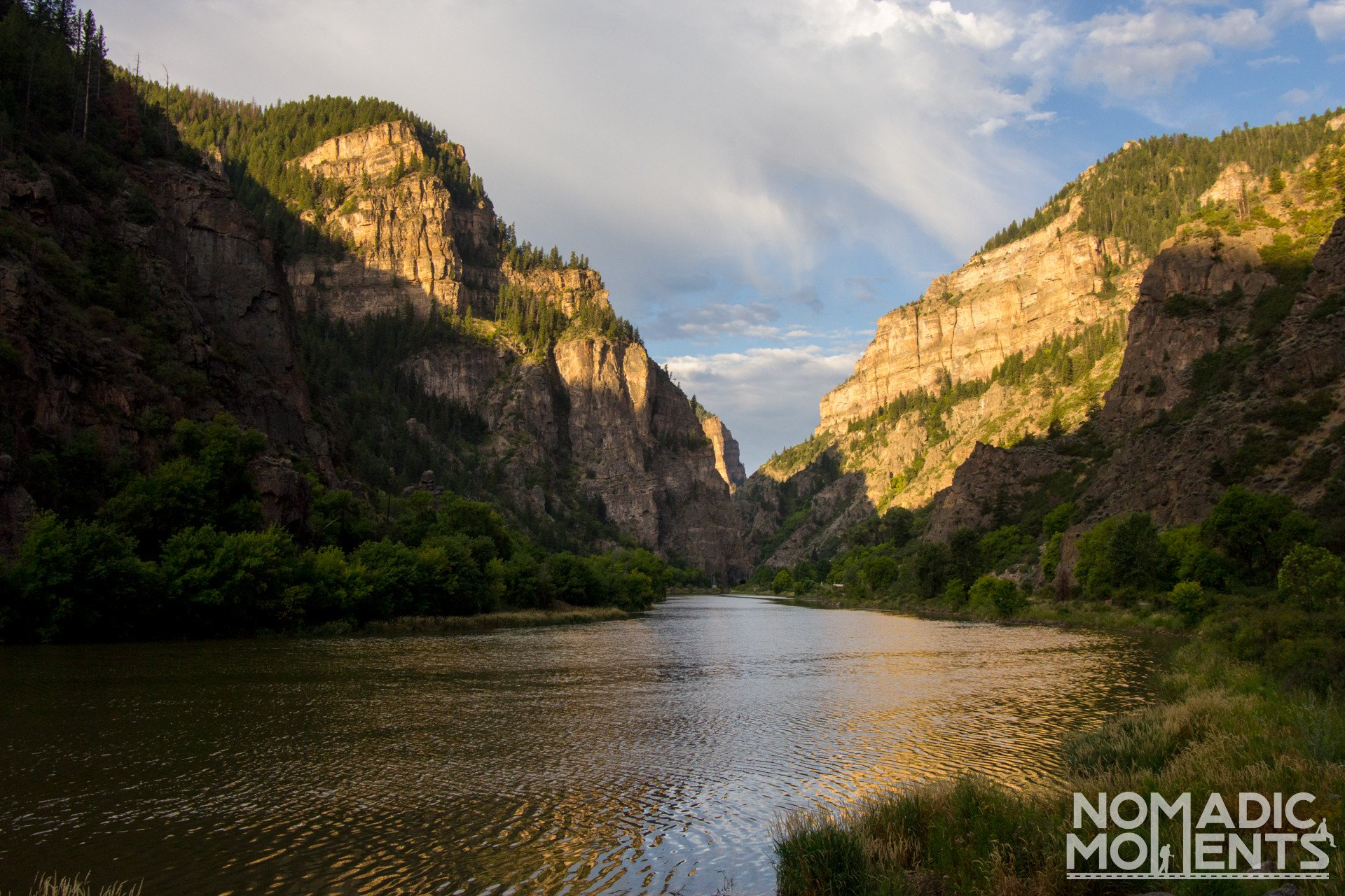 Glenwood Canyon - Best summer road trip in Colorado
