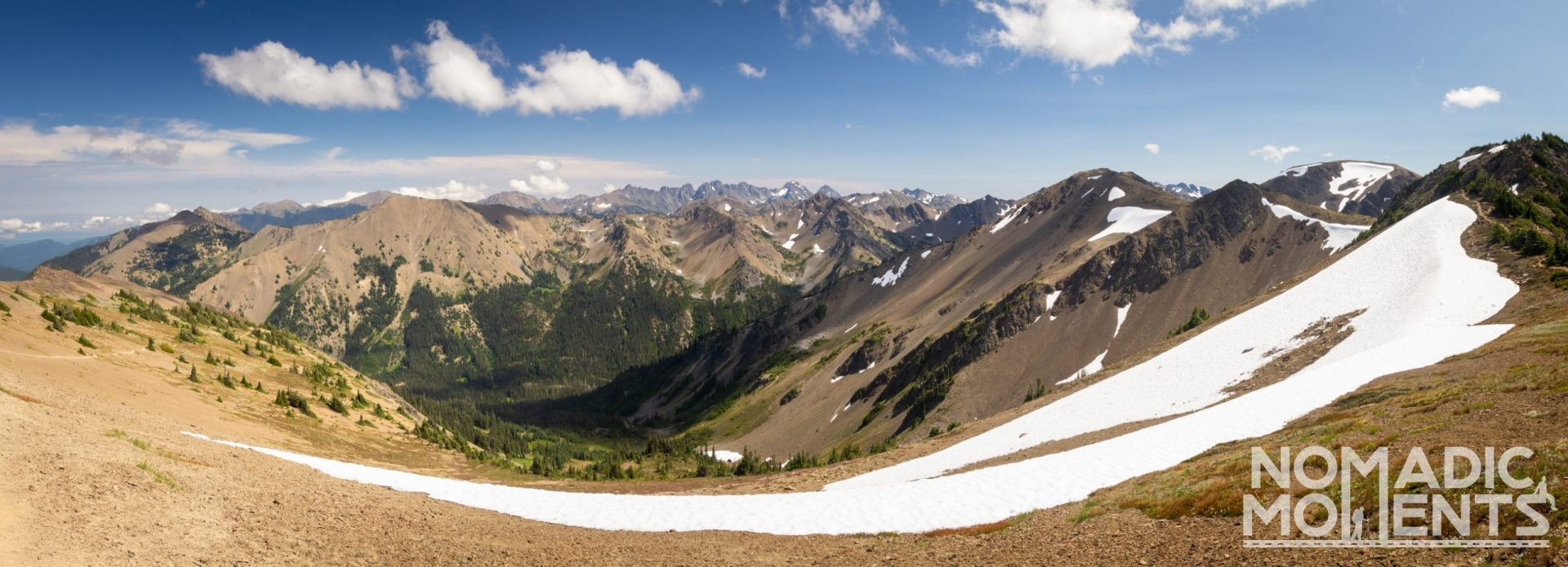 Grand Basin Overlook - Hiking Olympic National Park