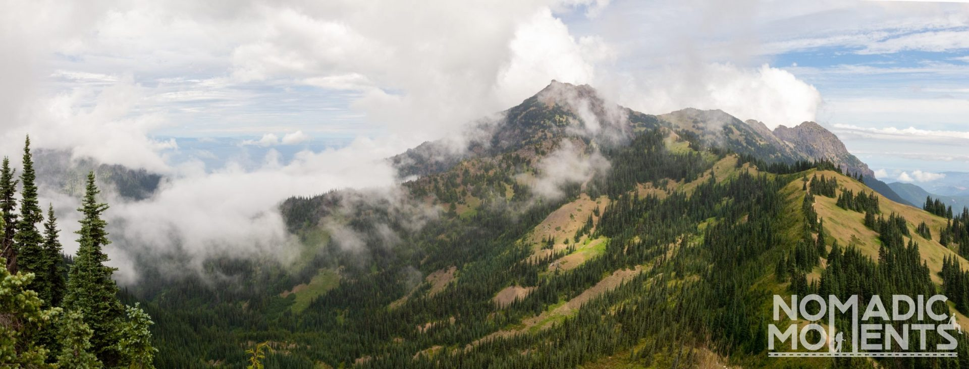 Hurricane Ridge Clouds