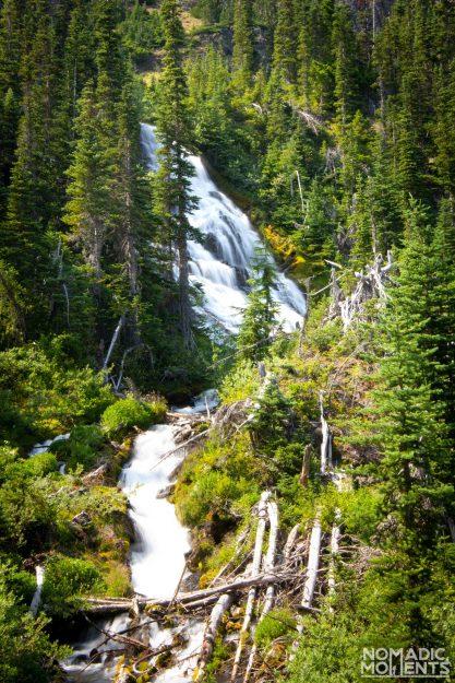 Royal Basin Waterfall
