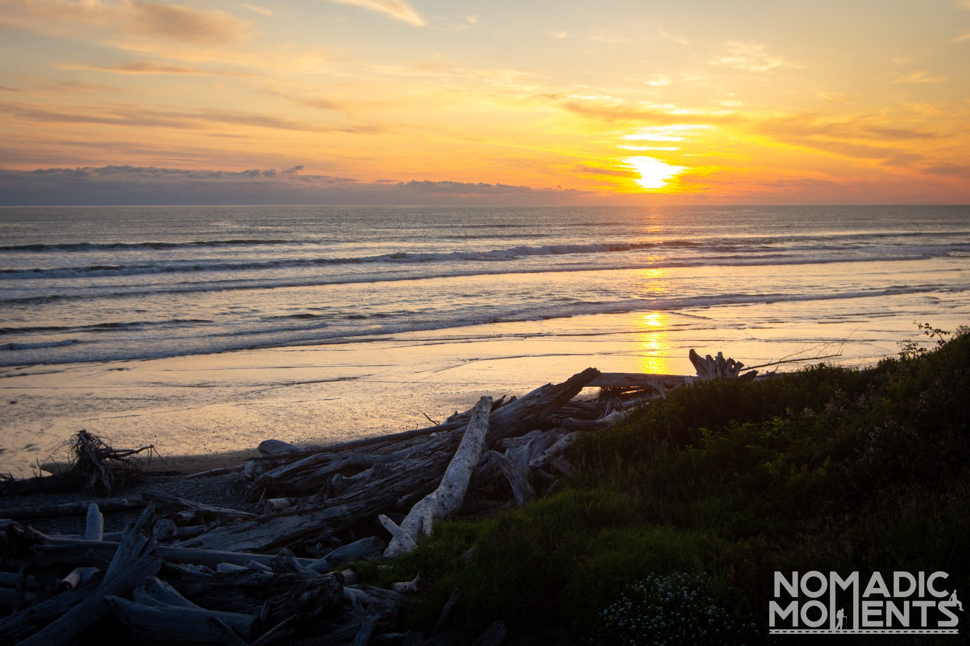 Sunset Beach - Visiting Olympic National Park