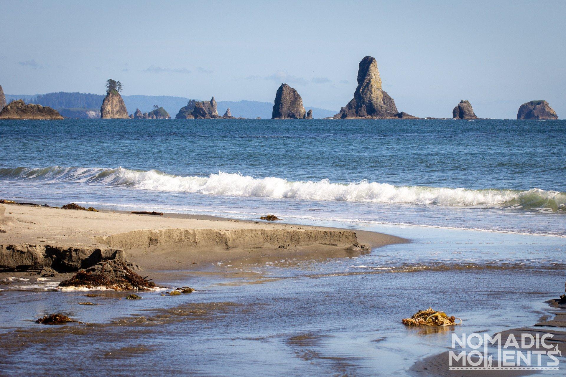 Third Beach Sea Stacks