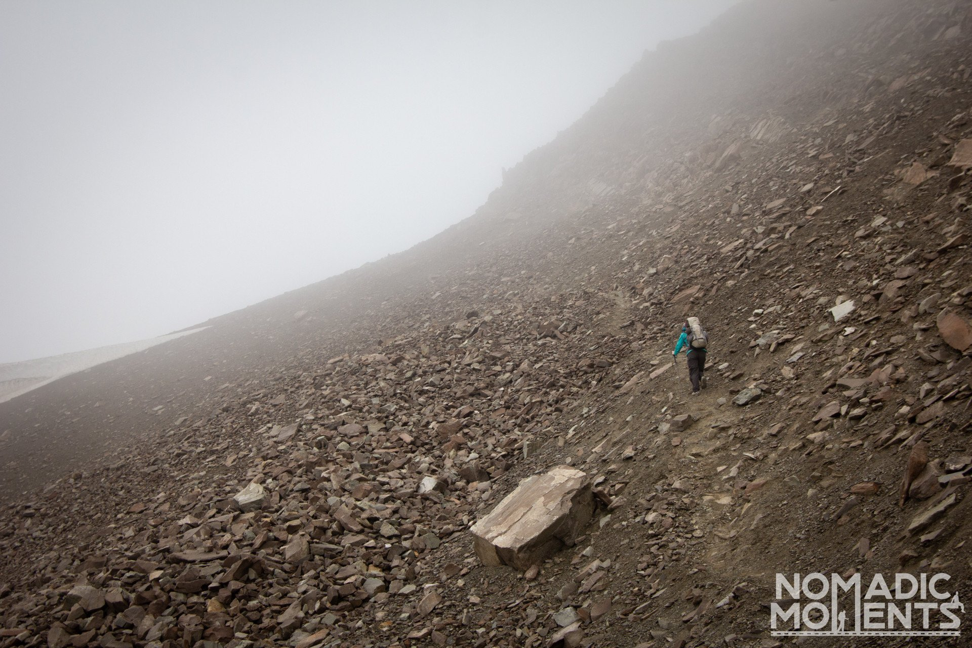 Climbing The Notch - Backpacking the Skyline Trail