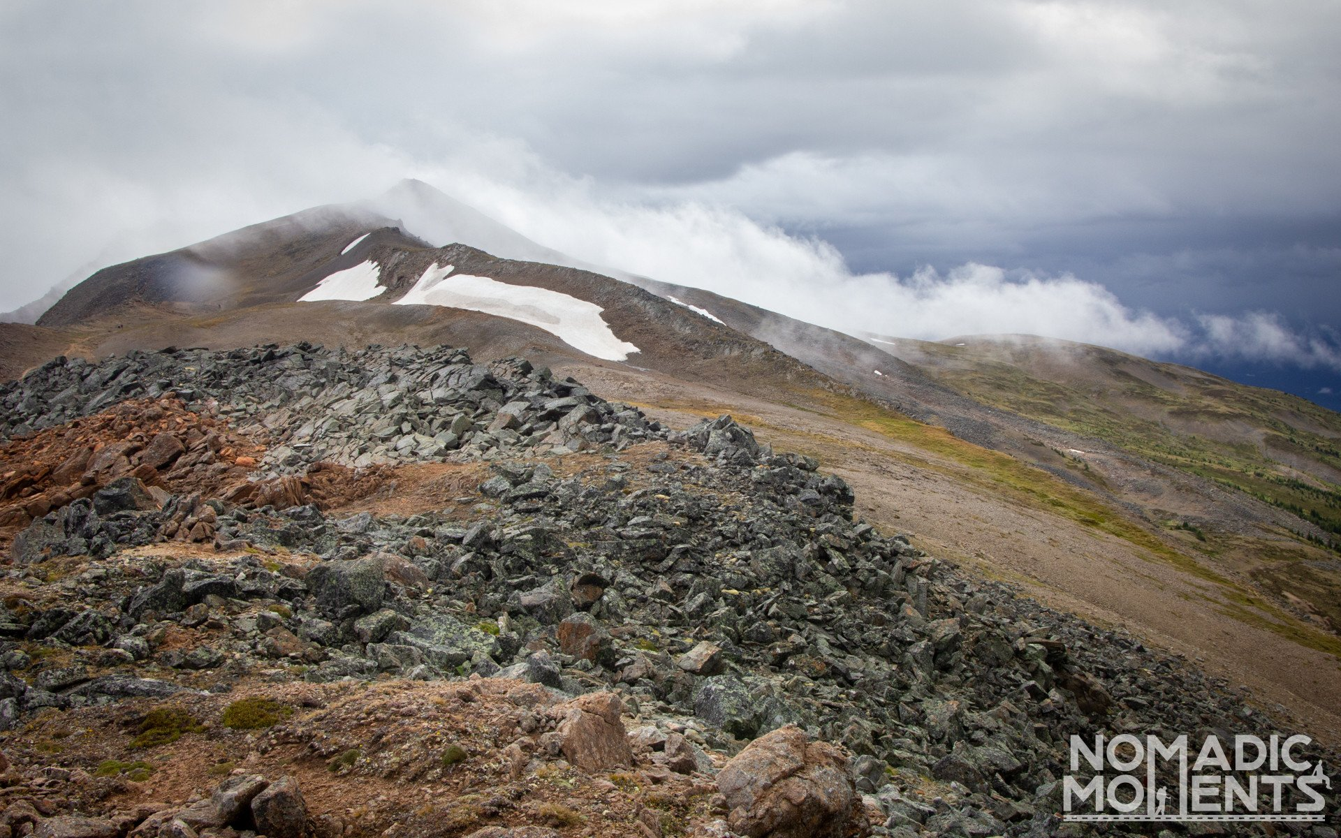 Clouds on the Skyline Trail