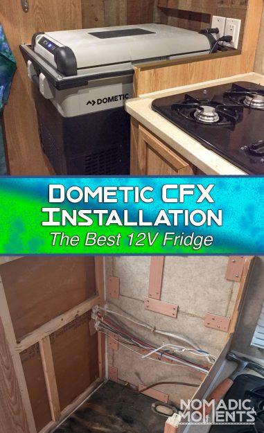 Dometic CFX Installation