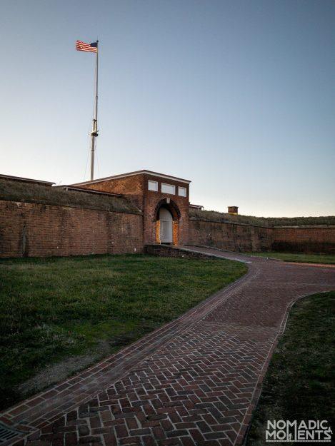 Fort McHenry Entrance