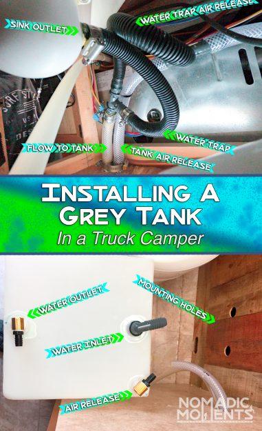 Installing a Grey Tank