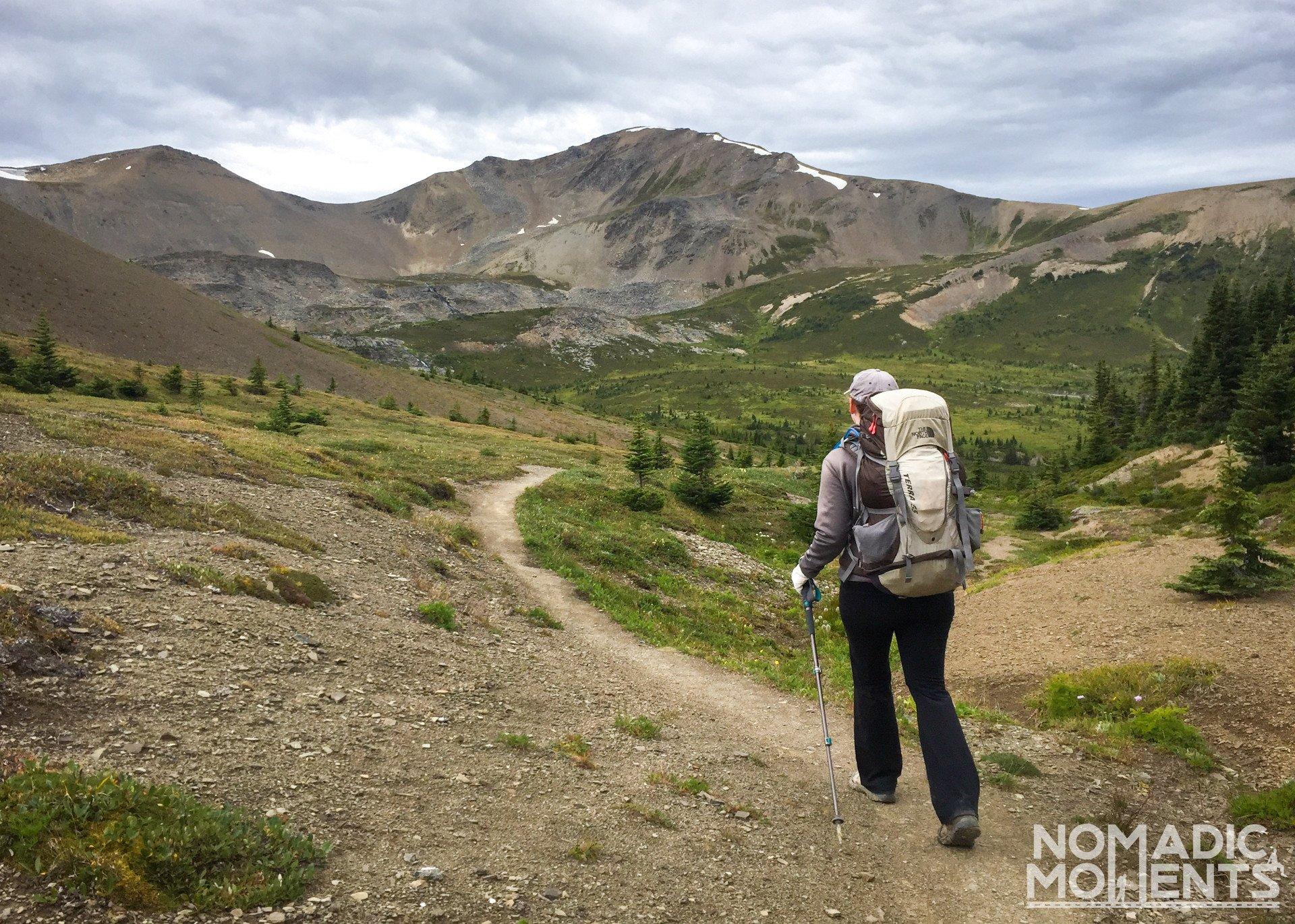 Little Shovel Pass - Hiking the Skyline Trail