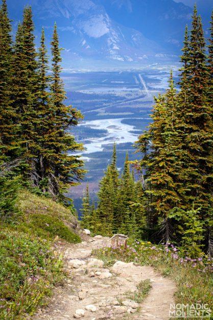Skyline Trail and Jasper Valley