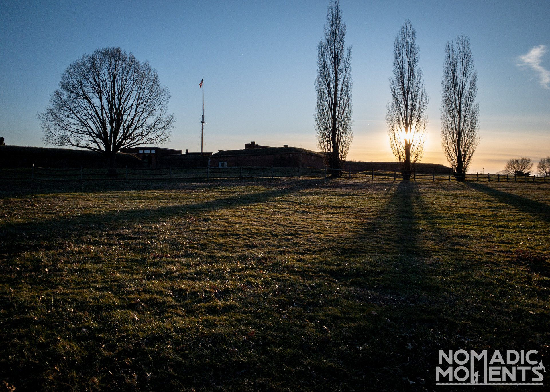 Sunset at Fort McHenry
