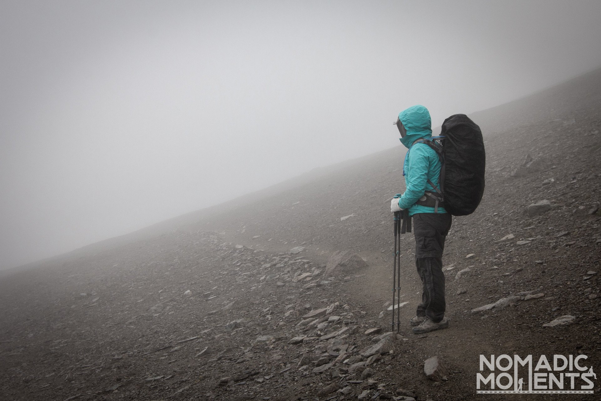Clouds on The Notch - Backpacking the Skyline Trail