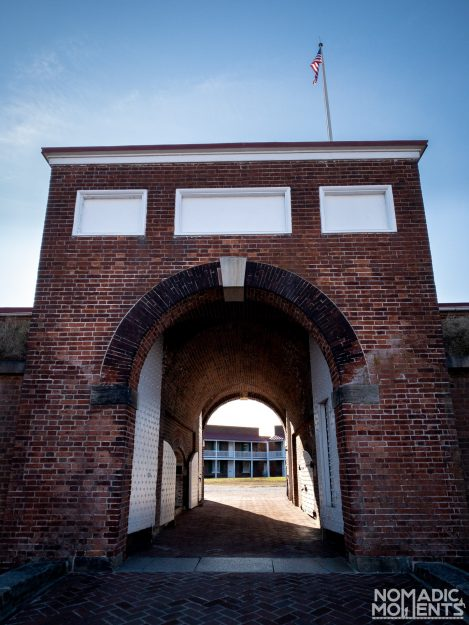 Visiting Fort McHenry Gate