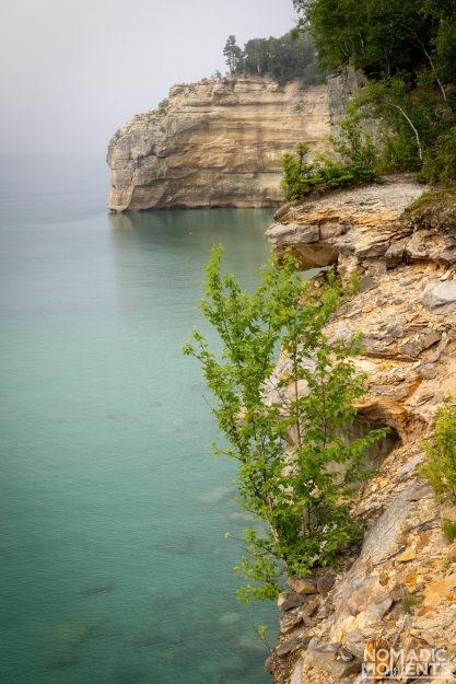 Cliffs of Pictured Rocks National Lakeshore
