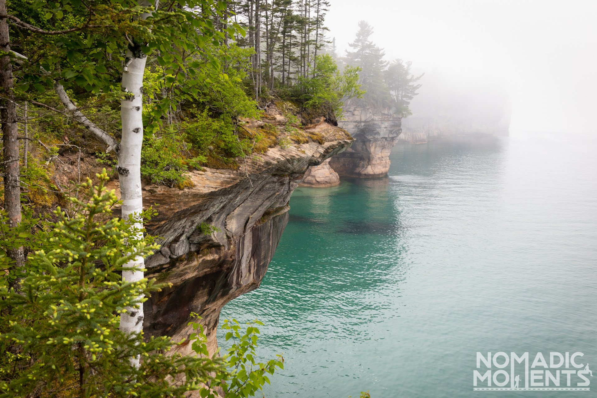 Pictured Rock National Lakeshore Cliffs
