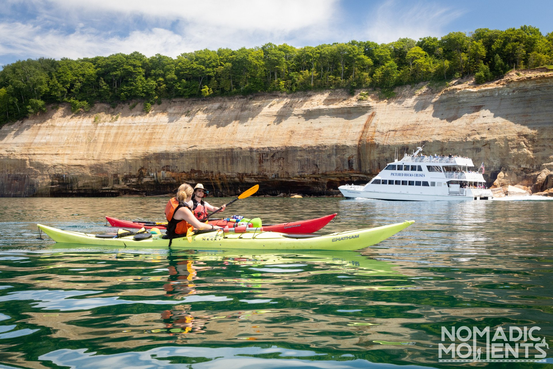 Pictured Rocks Boat Cruise and Kayak
