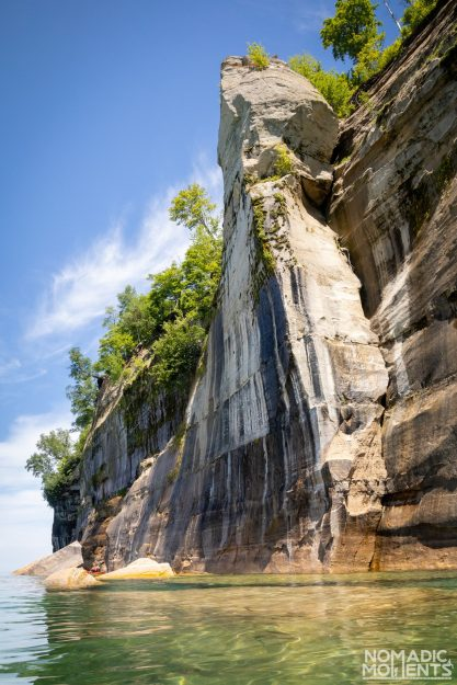 Pictured Rocks Tower Rock