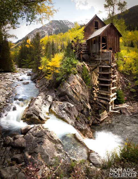 Visiting the Crystal Mill Falls in Colorado