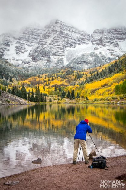 Photographing the Maroon Bells