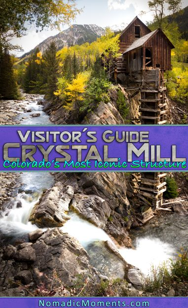 Visiting the Crystal Mill in Colorado