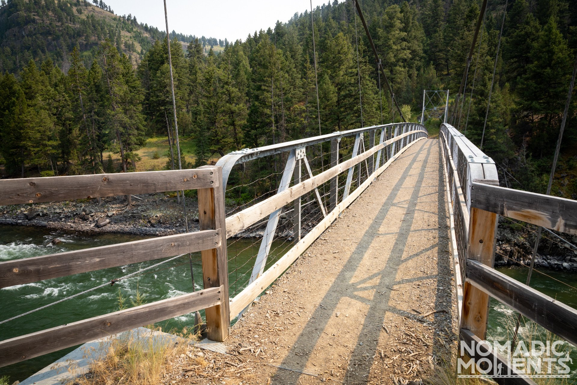 2nd Yellowstone River Swinging Bridge