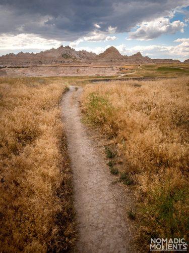 Badlands National Park Trail