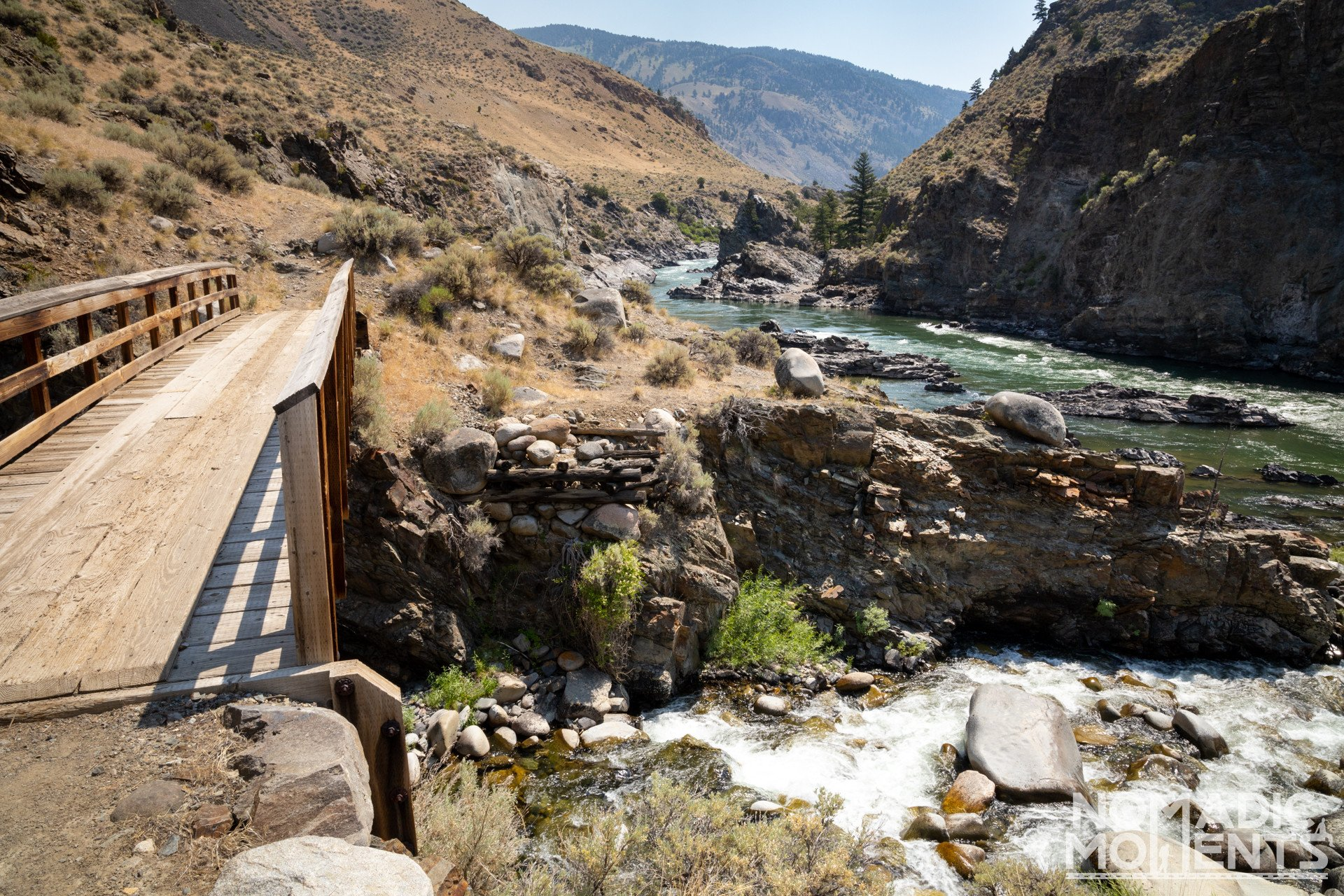Bear Creek and the Yellowstone River Confluence