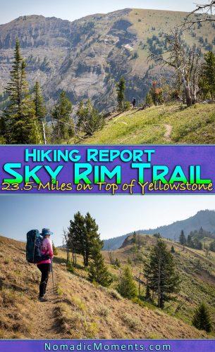 Hiking the Sky Rim Trail