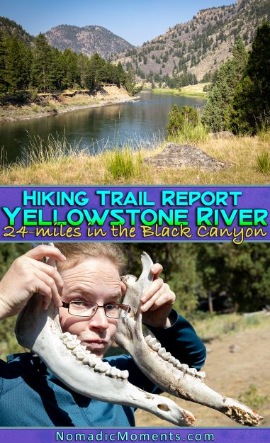 Hiking the Yellowstone River Trail