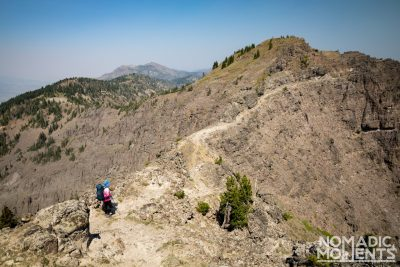 Knifes Edge to Bighorn Peak