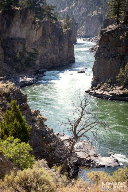 The Black Canyon of the Yellowstone