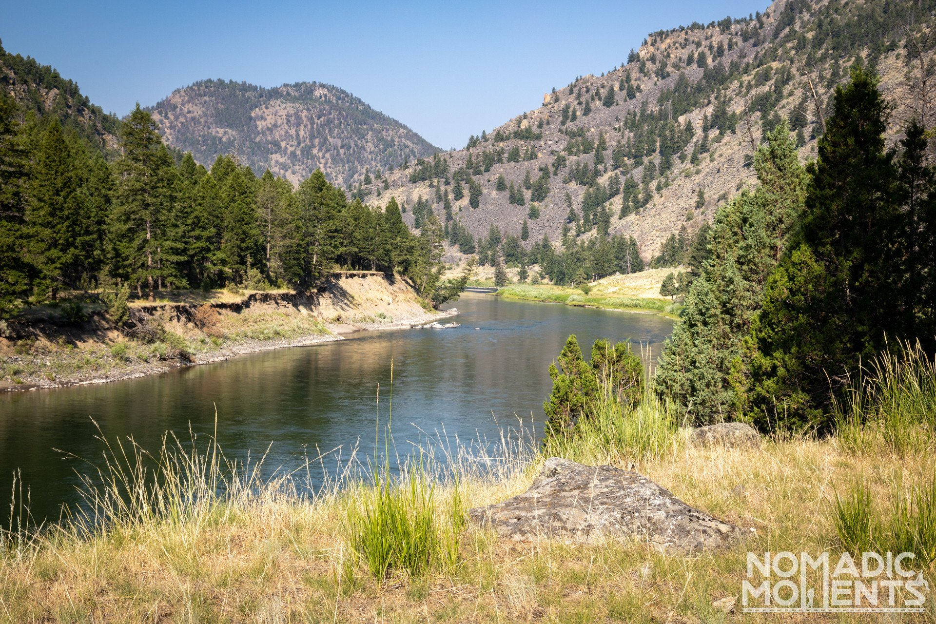 The Black Canyon of the Yellowstone River