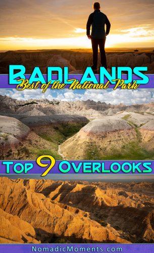 Best Overlooks in Badlands National Park